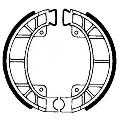 Būgninių stabdžių trinkelės FERODO 225129193