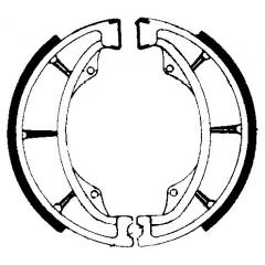 Būgninių stabdžių trinkelės FERODO 225129021