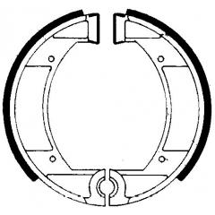 Būgninių stabdžių trinkelės FERODO 225129145