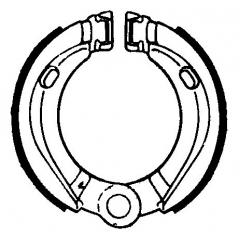 Būgninių stabdžių trinkelės FERODO 225129168