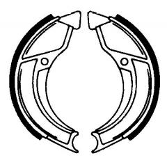 Būgninių stabdžių trinkelės FERODO 225129158