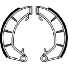 Būgninių stabdžių trinkelės FERODO 225129217