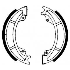 Būgninių stabdžių trinkelės FERODO 225129077