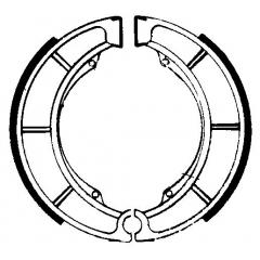 Būgninių stabdžių trinkelės FERODO 225129081