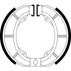 Būgninių stabdžių trinkelės FERODO 225129248