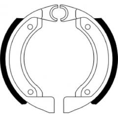 Būgninių stabdžių trinkelės FERODO 225129231