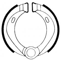 Būgninių stabdžių trinkelės FERODO 225129167