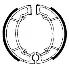 Būgninių stabdžių trinkelės FERODO 225129132