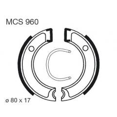 Būgninių stabdžių trinkelės LUCAS MCS 960