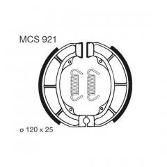 Būgninių stabdžių trinkelės LUCAS MCS 921