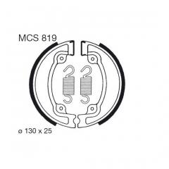 Būgninių stabdžių trinkelės LUCAS MCS 819