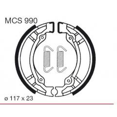 Būgninių stabdžių trinkelės LUCAS MCS 990