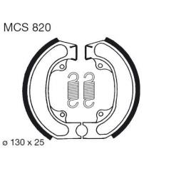 Būgninių stabdžių trinkelės LUCAS MCS 820