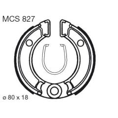 Būgninių stabdžių trinkelės LUCAS MCS 827
