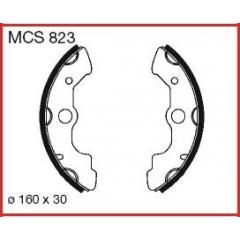 Būgninių stabdžių trinkelės LUCAS MCS 823