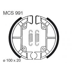 Būgninių stabdžių trinkelės LUCAS MCS 991