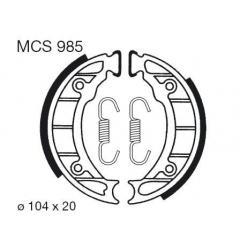 Būgninių stabdžių trinkelės LUCAS MCS 985