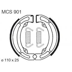Būgninių stabdžių trinkelės LUCAS MCS 901