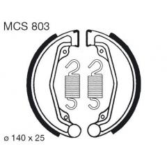 Būgninių stabdžių trinkelės LUCAS MCS 803