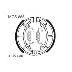 Būgninių stabdžių trinkelės LUCAS MCS 855