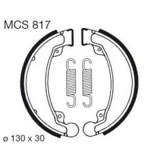Būgninių stabdžių trinkelės LUCAS MCS 817