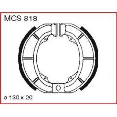 Būgninių stabdžių trinkelės LUCAS MCS 818