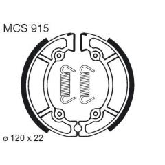 Būgninių stabdžių trinkelės LUCAS MCS 915