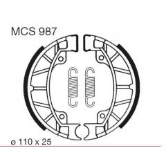 Būgninių stabdžių trinkelės LUCAS MCS 987