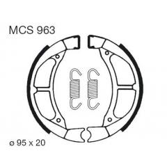 Būgninių stabdžių trinkelės LUCAS MCS 963