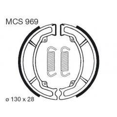 Būgninių stabdžių trinkelės LUCAS MCS 969