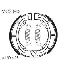 Būgninių stabdžių trinkelės LUCAS MCS 902
