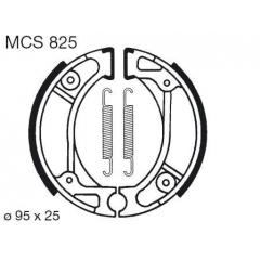 Būgninių stabdžių trinkelės LUCAS MCS 825