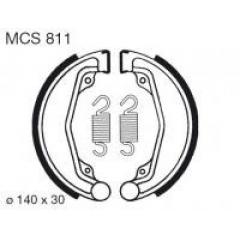 Būgninių stabdžių trinkelės LUCAS MCS 811