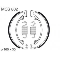 Būgninių stabdžių trinkelės LUCAS MCS 802