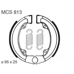 Būgninių stabdžių trinkelės LUCAS MCS 813