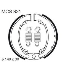 Būgninių stabdžių trinkelės LUCAS MCS 821