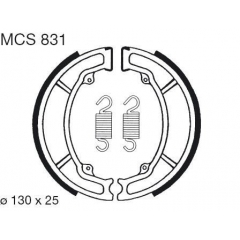 Būgninių stabdžių trinkelės LUCAS MCS 831