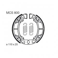 Būgninių stabdžių trinkelės LUCAS MCS 800