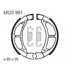 Būgninių stabdžių trinkelės LUCAS MCS 961