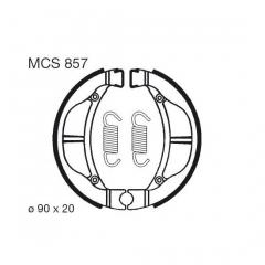 Būgninių stabdžių trinkelės LUCAS MCS 857