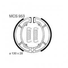 Būgninių stabdžių trinkelės LUCAS MCS 953