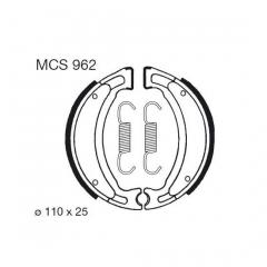 Būgninių stabdžių trinkelės LUCAS MCS 962