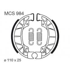 Būgninių stabdžių trinkelės LUCAS MCS 984