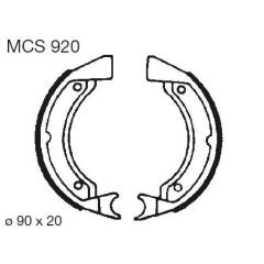 Būgninių stabdžių trinkelės LUCAS MCS 920