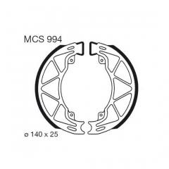 Būgninių stabdžių trinkelės LUCAS MCS 994