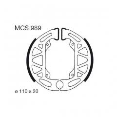 Būgninių stabdžių trinkelės LUCAS MCS 989