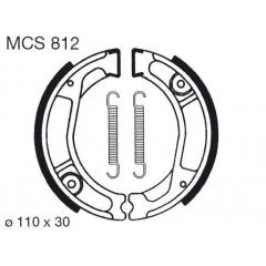 Būgninių stabdžių trinkelės LUCAS MCS 812