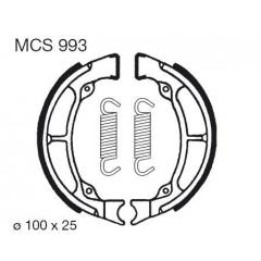 Būgninių stabdžių trinkelės LUCAS MCS 993