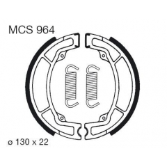 Būgninių stabdžių trinkelės LUCAS MCS 964