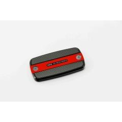 Brake / clutch tank cover PUIG , raudonos spalvos